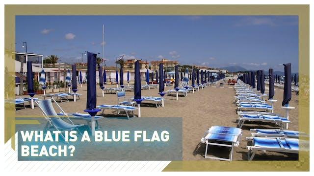 What is a blue flag beach?