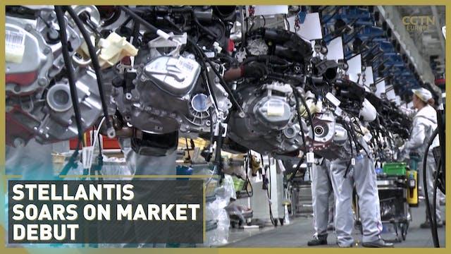 Stellantis soars on market debut afte...