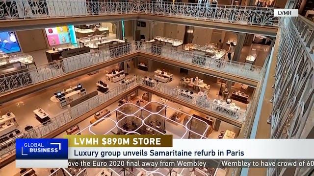 LVMH reopens iconic La Samaritaine st...