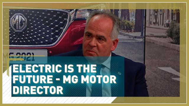 Electric is the future - MG motor dir...