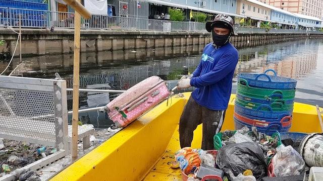 Plastic in rivers