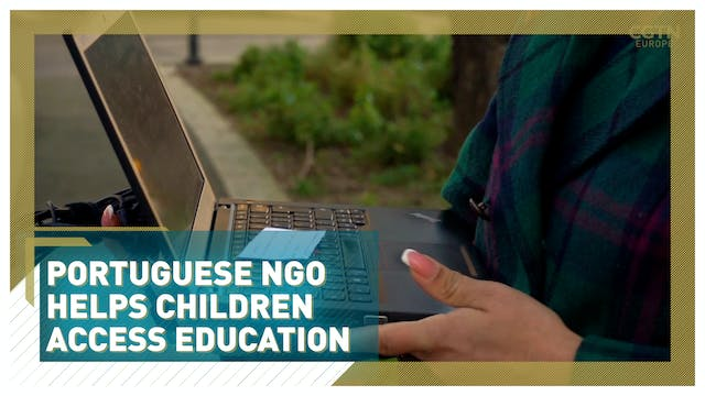 Portuguese charity delivers laptops t...