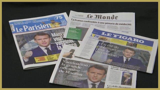 France announces mandatory Covid-19 v...