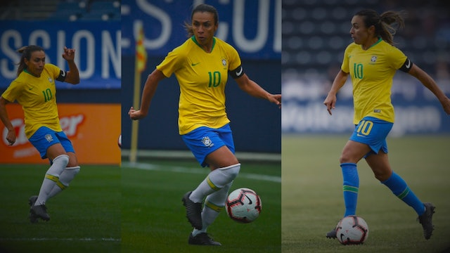 Brazil's Marta one of football's best players