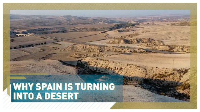 Trying to stop Spain from turning into a desert through agriculture