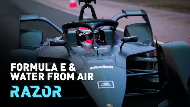 Formula E and harvesting water from a...