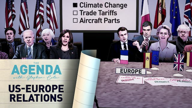 US-Europe Relations - #TheAgenda with...