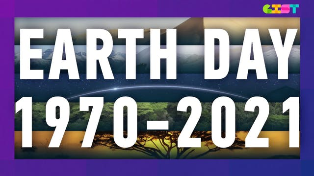 The history of Earth Day