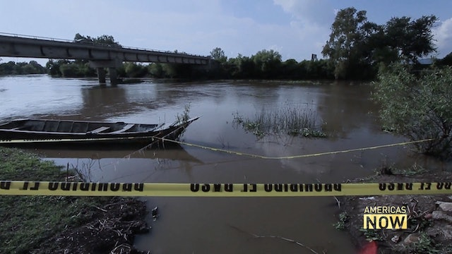 A polluted river causes severe health problems in Mexico
