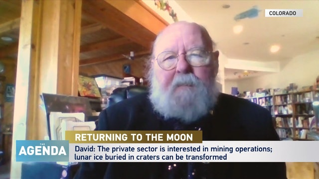 THE MOON: WHY GO BACK? - #TheAgenda with Stephen Cole