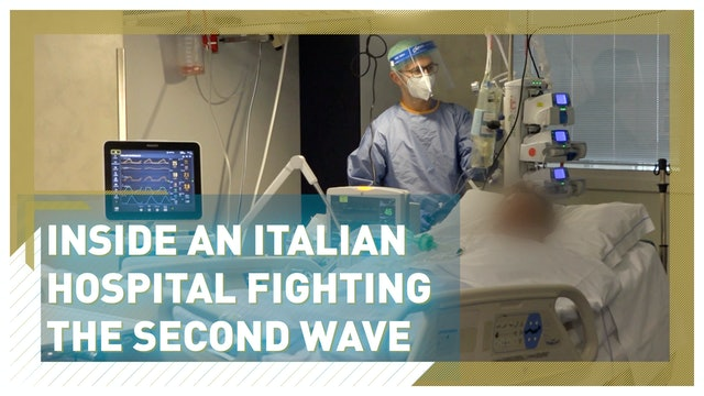 Inside an Italian hospital fighting the second wave of COVID-19