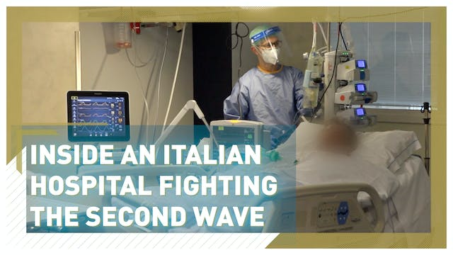 Inside an Italian hospital fighting t...