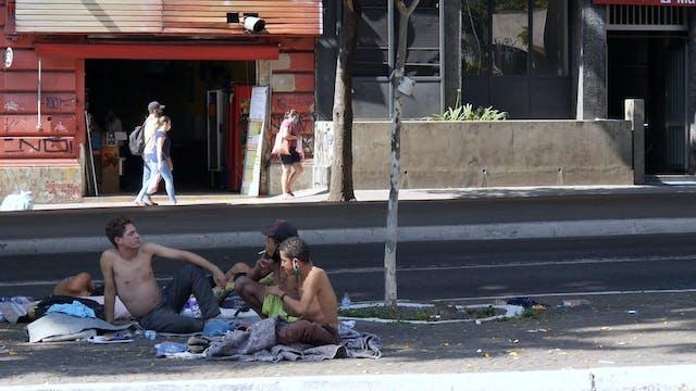 A homelessness spike in Latin America...