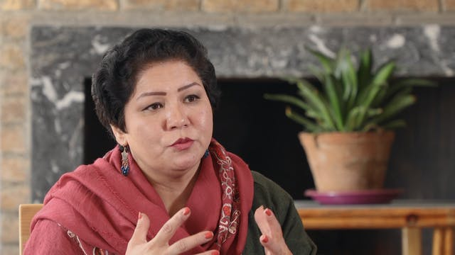 One Afghan woman's fight for change