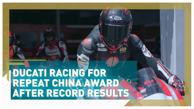 Ducati in race for repeat China award...