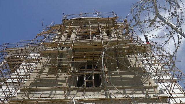 Rebuilding Darulaman Palace