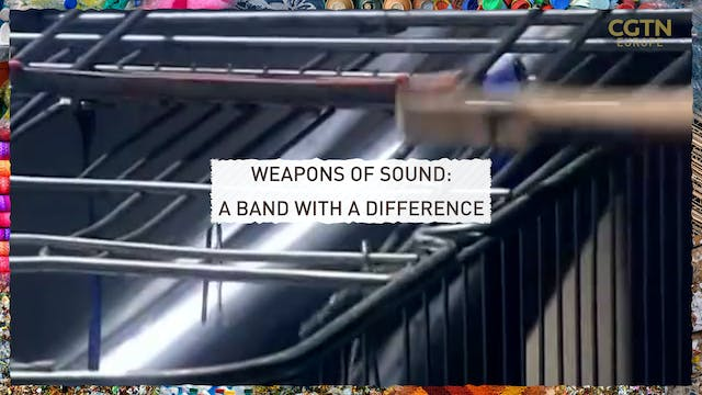 Weapons of sound: A band with a diffe...