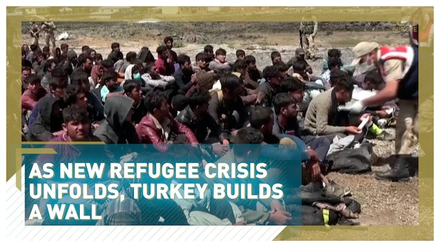 As new refugee crisis unfolds, Turkey builds a wall