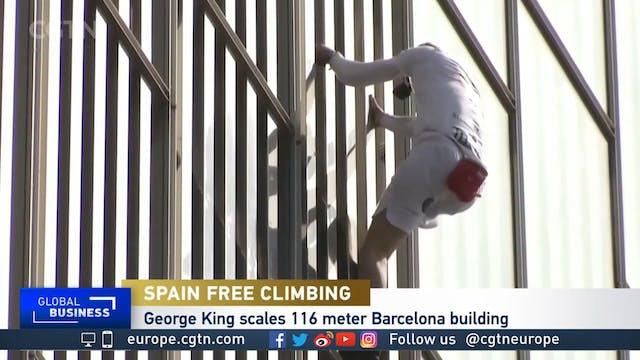 How's this for a social climber?