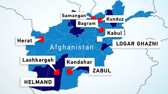 Following the Taliban's takeover