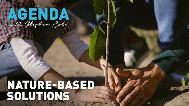 NATURE-BASED SOLUTIONS - #TheAgenda
