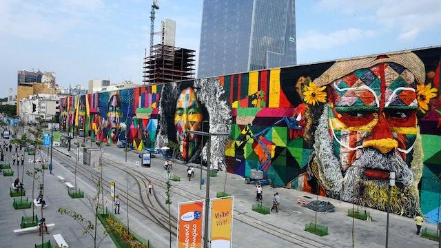 Eduardo Kobra: Expressing His Feelings Through Art