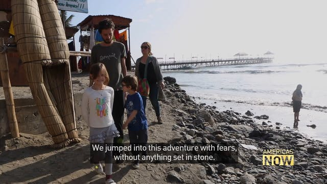 A Colombian family's long ride on the...