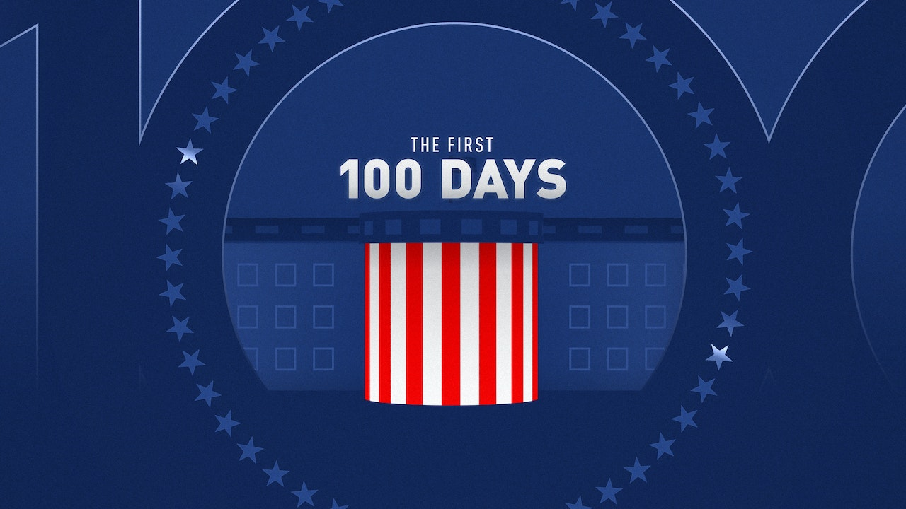 Biden's first 100 days