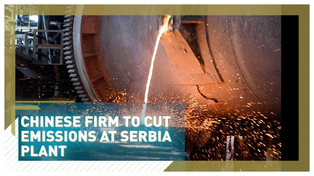 Chinese technology helps cut emissions at Serbia plant