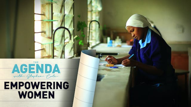 EMPOWERING WOMEN - The Agenda with St...