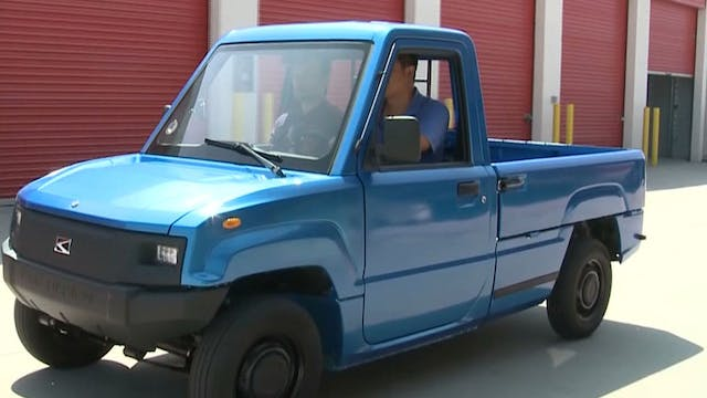 Chinese electric mini truck wants US ...