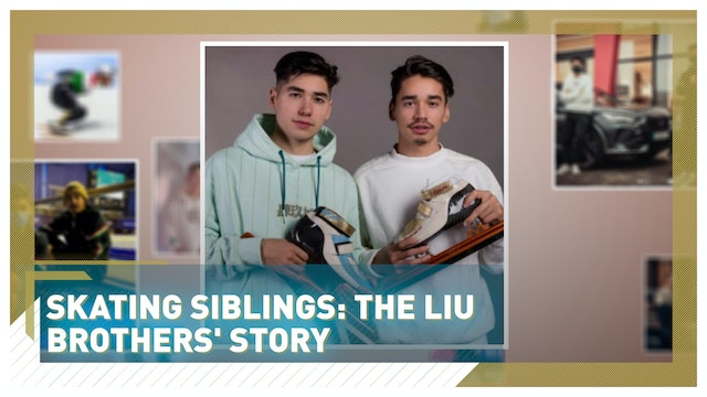 Skating siblings: Hungaria's Liu brothers are going for gold in Beijing