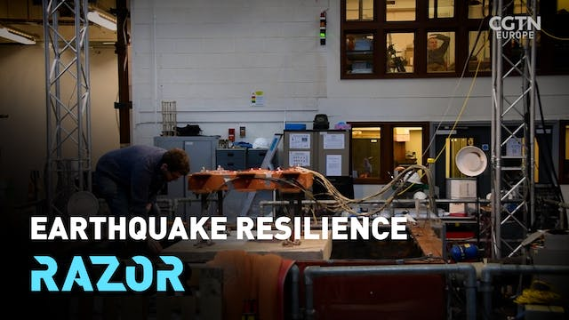 Earthquake resilience #RAZOR