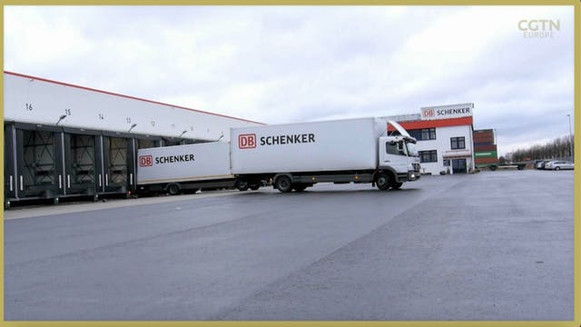 Germany's biggest logistics firm halt...