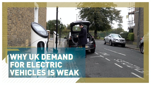 Why UK demand for electric vehicles is weak