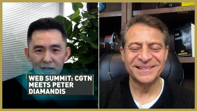 WEB SUMMIT 2020: CGTN meets Peter Dia...