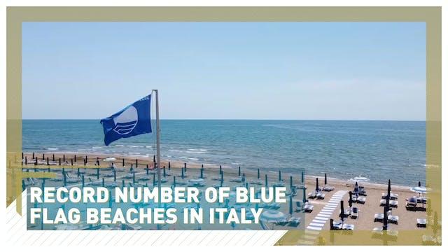Record number of Italian beaches gain...