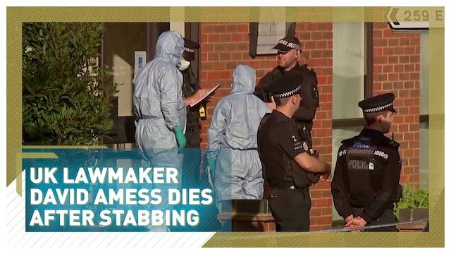 UK lawmaker David Amess dies after being stabbed, man arrested