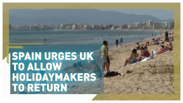 Spain urges UK to allow holidaymakers to return in June
