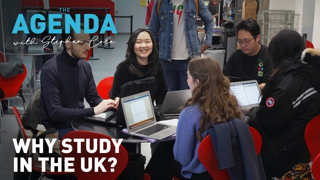 Why study in the UK? #TheAgenda