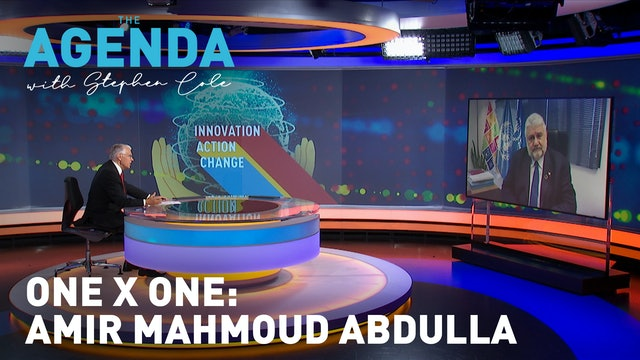 One X One: Amir Mahmoud Abdulla - The Agenda with Stephen Cole