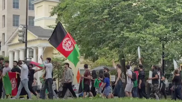 Anger of Afghans in the U.S.