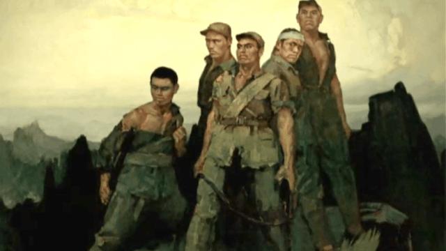 The Five Heroes of Langya Mountain