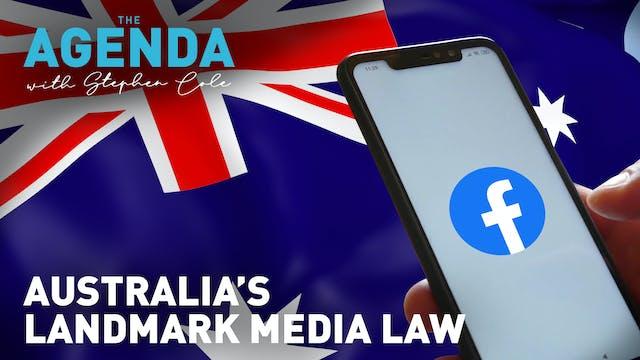 Former Facebook CEO discusses Austral...