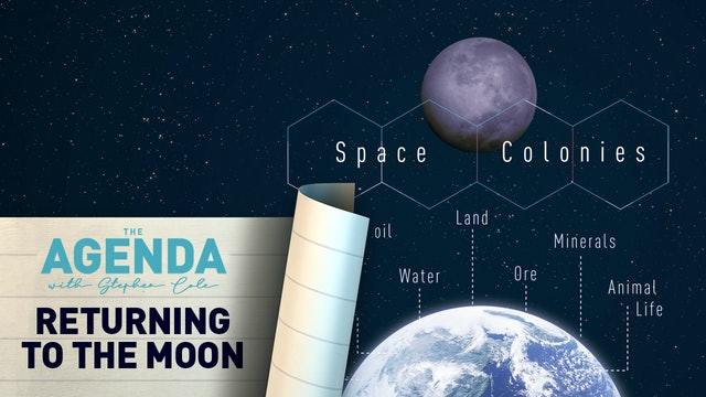 RETURNING TO THE MOON - #TheAgenda with Stephen Cole