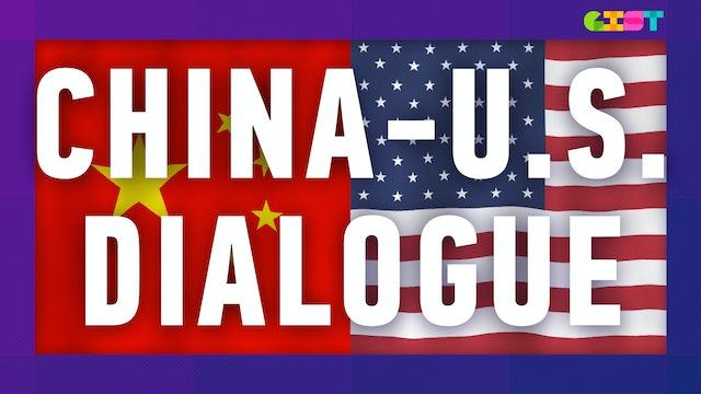Why did Chinese & U.S. Diplomats met in Alaska?