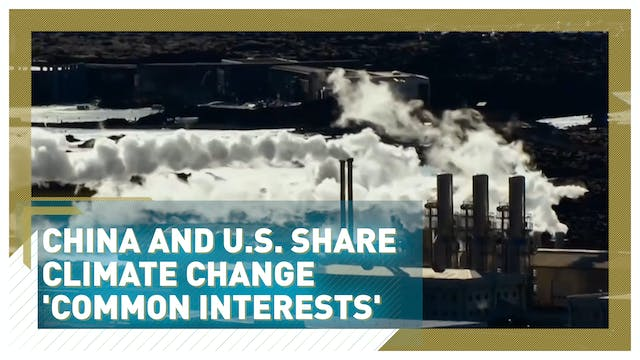 China and U.S. share climate change c...