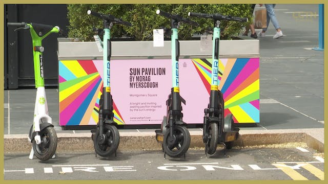 London e-scooter hiring trial rolls out