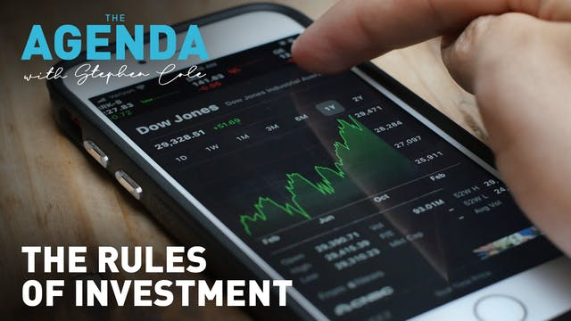THE RULES OF INVESTMENT -  #TheAgenda...