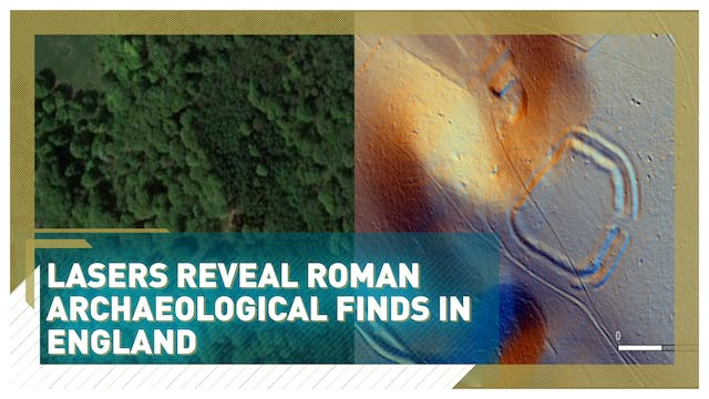Lasers reveal Roman archaeological fi...